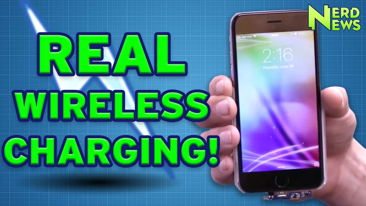 Disney Invents Wireless Power? Actual Wireless Charging! - YouTube