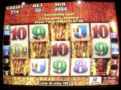 Tiki Torch Slot Machine Jackpot
