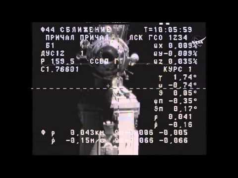 ISS Expedition 44 Progress M 28 / M60 Docking