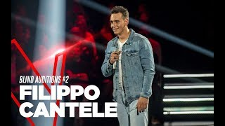 "Filippo Cantele ""Your Man"" - Blind Auditions #2 - TVOI 2019"