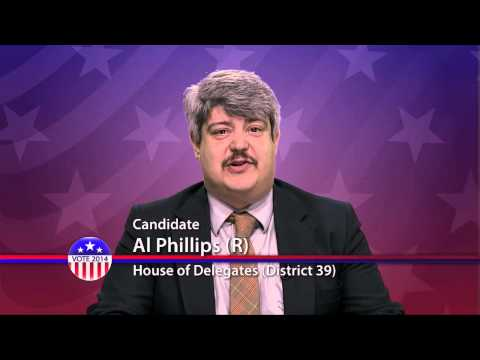 Al Phillips (R), Candidate for Maryland House of Delegates District 39