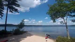 Lake Wentworth Clouds 7/21/2015 2:23PM Timelapse