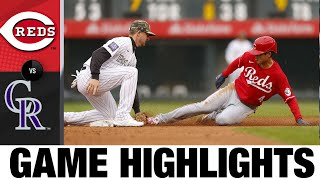 Reds vs. Rockies Game Highlights (5/16/21)   MLB Highlights
