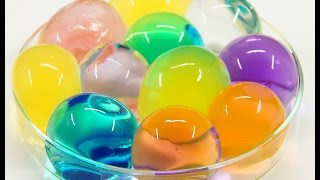 Growing Water Balz Polymer Balls by Incredible Experiments