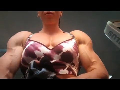 Ripped Biceps On Shredded Girls – Female Bodybuilding Motivation