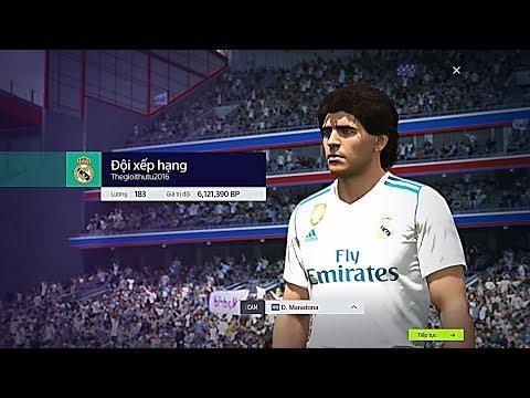 """FIFA ONLINE 4: XẾP HẠNG FO4 LẦN ĐẦU TIÊN VỚI """"CẬU BÉ VÀNG"""" Diego Maradona NHD - Shoptaycam.com"""