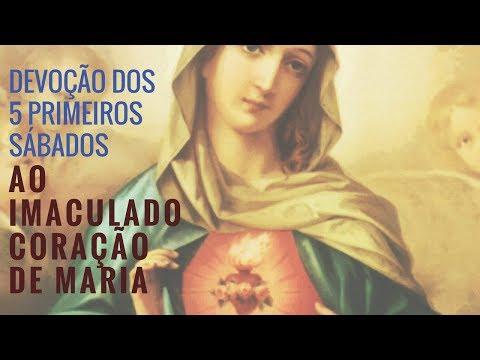 Devoção dos 5 primeiros sábados ao Imaculado Coração de Maria