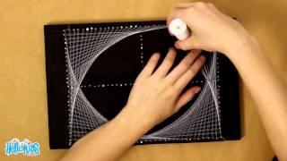 Geometric String Art (Hellokids)