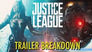 JUSTICE LEAGUE Trailer #2 Breakdown (2017) Zack Snyder DCEU Superhero Movie HD