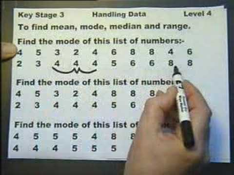 KEY STAGE 3. HANDLING DATA - LEVEL 4. Introduction