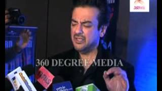 Adnan Sami sings the song