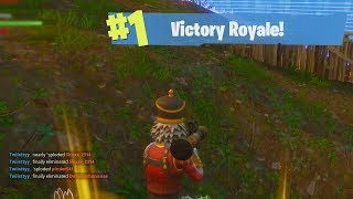 The ULTIMATE Fortnite Battle Royale Clutch. EPIC MODE Gameplay!