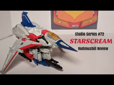 Studio Series 72 Starscream Transformers Movie Voyager Review by Rodimusbill