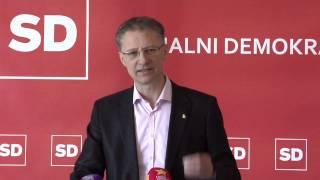 07.03.2014 Novinarska konferenca SD - Igor Lukšič