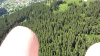 Paragliding over Grindelwald, Switzerland