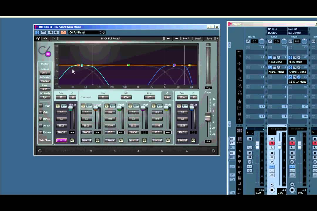 bot 1 waves c6 sidechain improves your mix kick and bass example rh youtube com Best Multiband Compressor Plug In Multiband Points Program