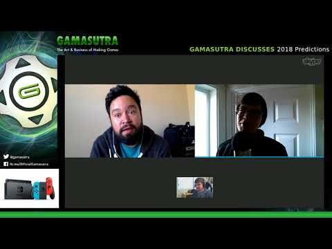 Gamasutra makes game industry predictions for 2018