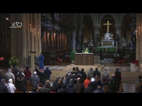 Messe du 19 janvier à Notre-Dame de Paris