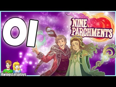 Nine Parchments Part 1 Academy of Magic (Nintendo Switch) co-op Gameplay