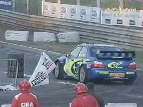Valentino Rossi  Subaru Impreza Vs Colin Mcrae - Monza Rally Show 2005
