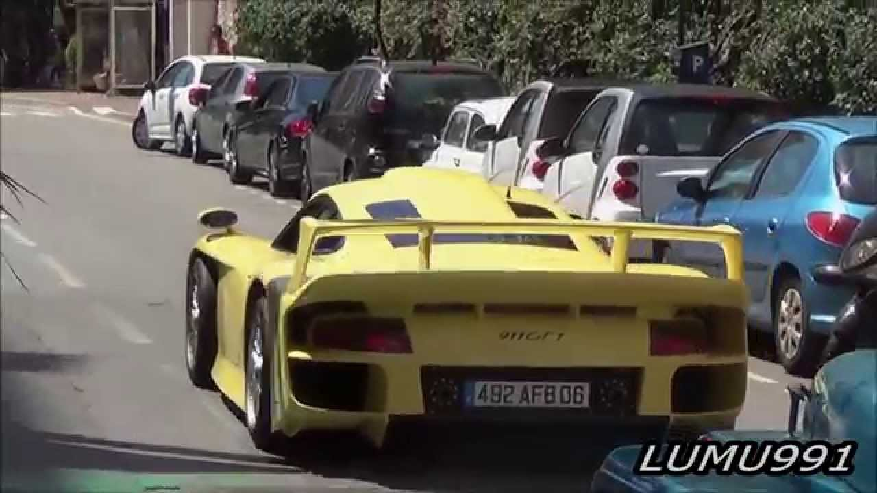 porsche 911 gt1 stra enversion in monaco youtube. Black Bedroom Furniture Sets. Home Design Ideas