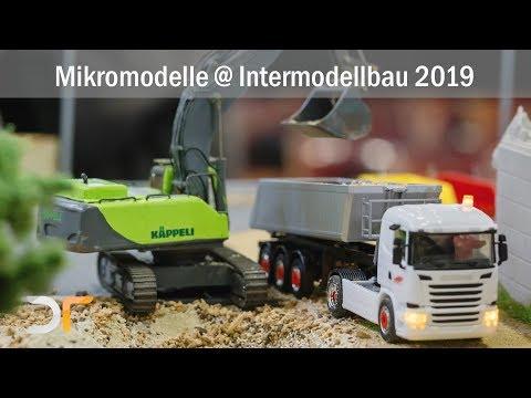 Funktionsmodelle auf der Intermodellbau 2019 | RC 1:87