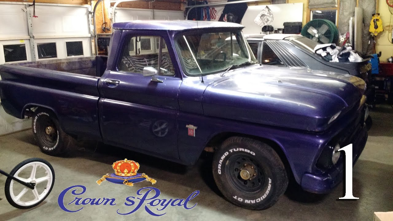1964 chevy c10 shop truck build crown spoyal youtube. Black Bedroom Furniture Sets. Home Design Ideas
