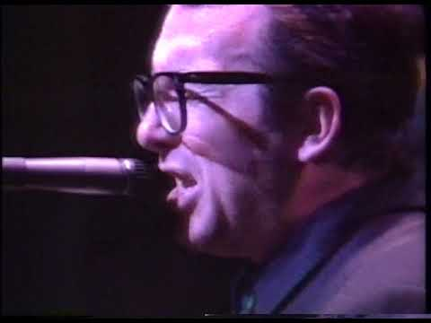 Elvis Costello & The Confederates with Nick Lowe live in Japan 1987