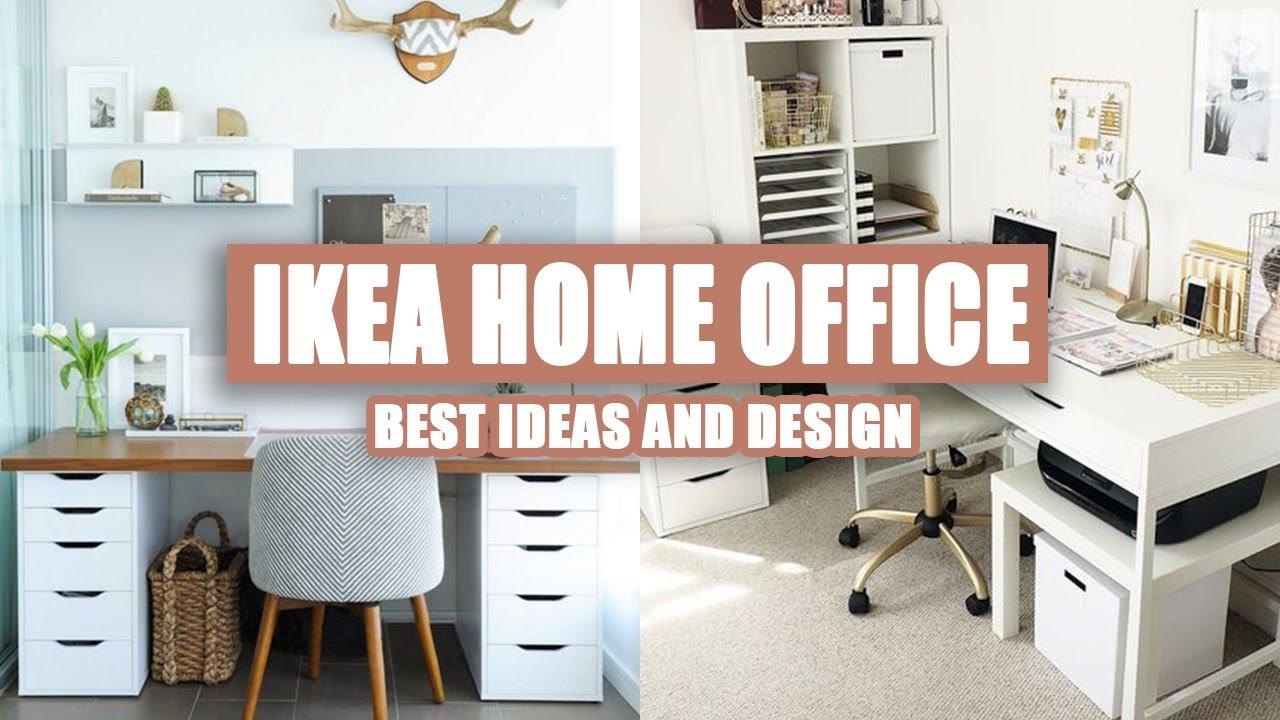 40 Best Ikea Home Office Ideas 2020 Youtube