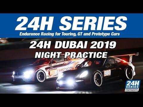 Hankook 24H DUBAI 2019 - Night Practice