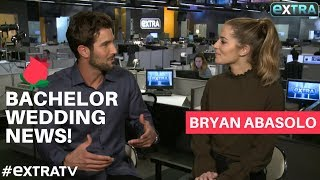 """""""The Bachelorette's"""" Bryan Abasolo on Wedding Plans with Rachel Lindsay & Being """"Dr. Abs""""!"""