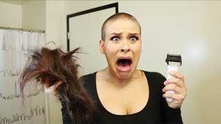 SHAVING MY HEAD thumbnail