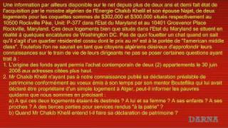 Les biens immobiliers de Chakib Khelil aux USA thumbnail