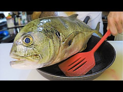 Ultimate TRASH Fish Taste Test! Jack Crevalle Catch And Cook!