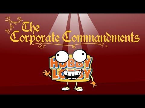 Hobby Lobby's Corporate Commandments