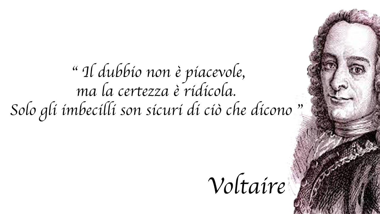 Voltaire Aforismi Gabriele Greco Youtube