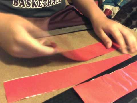 how to make duck tape mma gloves  part2