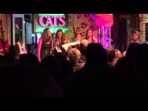 Steph's bachelorette karaoke