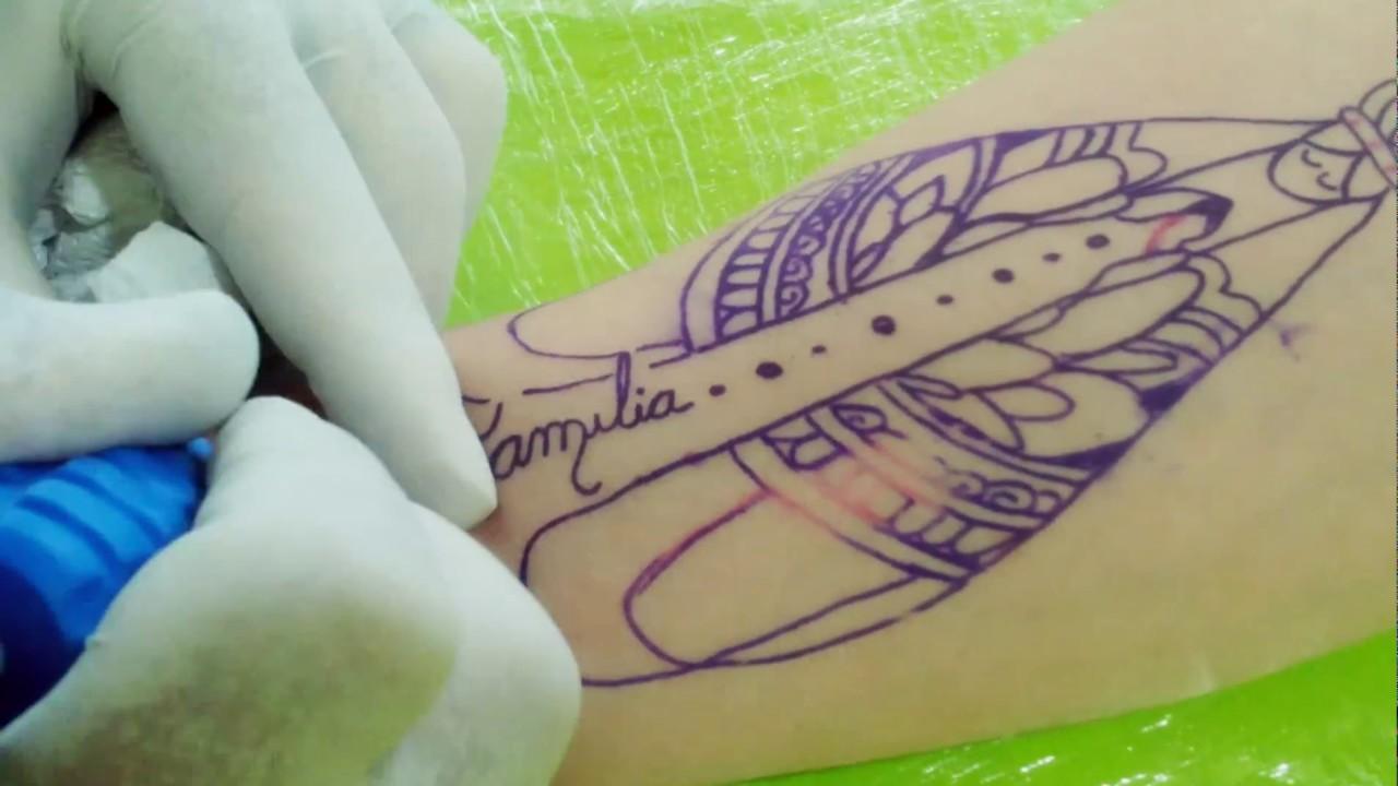 Tatuagem de imagem de santa youtube tatuagem de imagem de santa altavistaventures Image collections