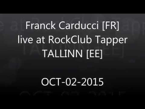Franck Carducci in Estonia - Radio Announcement