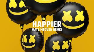 Marshmello ft. Bastille - Happier (Matt Medved Remix) Mp3