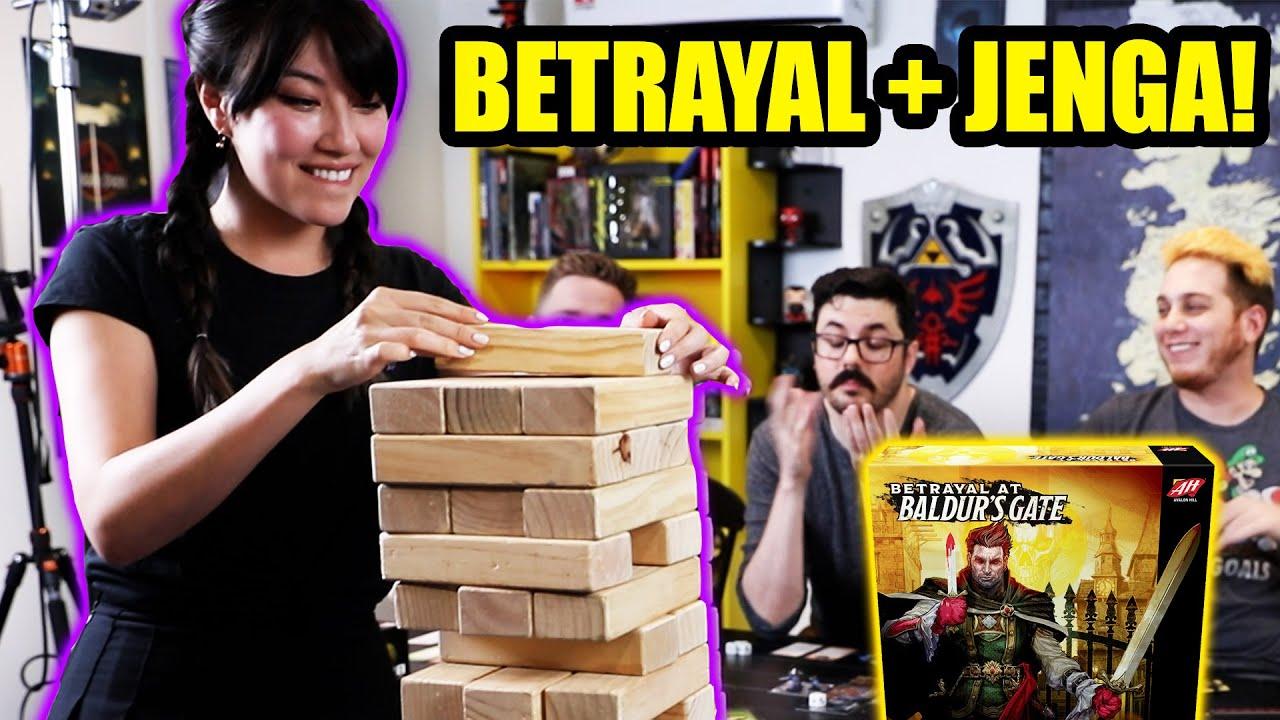Betrayal At Baldur's Gate - JENGA VERSION!