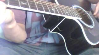 thương nhau ngày mưa guitar