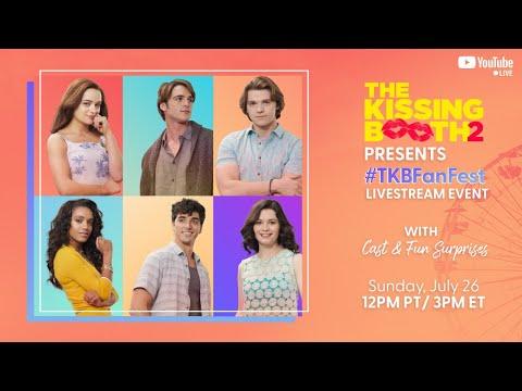 The Kissing Booth 2 Cast Have BIG Surprises   #TKBFanFest   Netflix