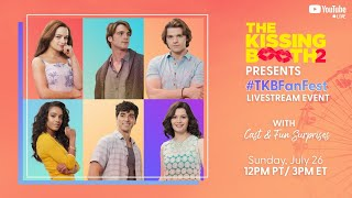 The Kissing Booth 2 Cast Have BIG Surprises | #TKBFanFest | Netflix