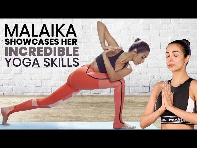 Malaika Arora Gives Us The Secret Behind the Fit and Fab Figure | Celebrity Fitness | Yoga |