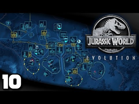 Jurassic World Evolution - Ep. 10: New Research