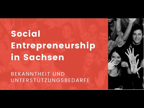 Social Entrepreneurship in Sachsen - Veranstaltung vom 22. Juni