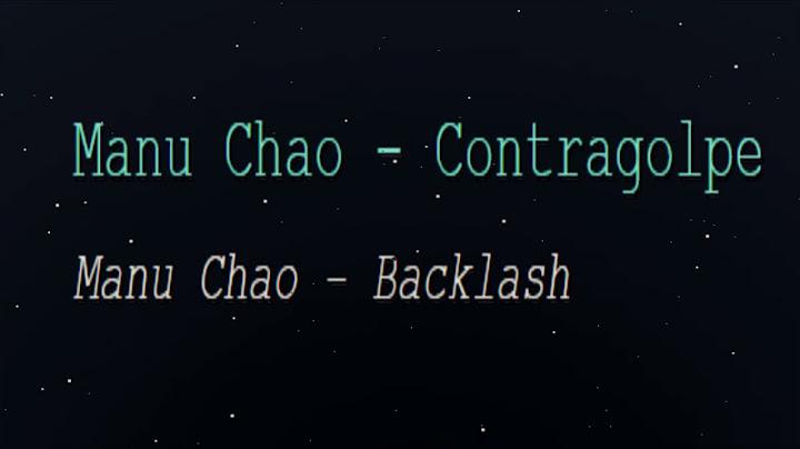 manu chao  contragolpe english lyrics translation