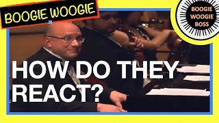 BOOGIE WOOGIE guy crashes a classical music concert (see what happens next?)